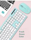 Cute Girl Color Series 2.4GHz Wireless multimedia Keyboard and Mouse Set For PC.