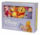 Disney Baby Sesame Street Mickey Mouse Pooh Wind Up Crib Musical Cot Mobile