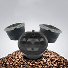 3pcs Refillable Reusable Coffee Capsules Cup Pod For Dolce Gusto/Nescafe Machine
