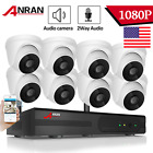 ANRAN Home Wireless 1080P Security Camera Audio System 2MP CCTV WIFI 2TB HDD APP