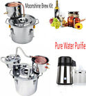 Pure Water Purifie /3 Pot 8Gal Moonshine Brew Kit Copper Tube Spirits Water Wine