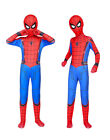 US Spider-Man Homecoming Cosplay Costume Kids Boys Lycra zentai Jumpsuit Mask