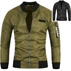 Mens Stadium Tracksuit Windbreak Blouson Blazer Bomber Flight Jacket Jumper M007 $49.87 AUD on eBay