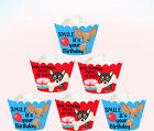 BIRTHDAY CHIHUAHUA ANGRY PUPPY DOG PUP Party 15 Wraps Cupcake Cake Wrappers