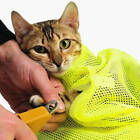 Cat Grooming Bag Mesh Cat Grooming Bathing Bag Cat Washing Bath Bag Restraint