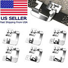 6 Size Domestic Sewing Machine Foot Presser Rolled Hemming For Brother Singer