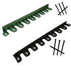 3.2m Garden Lawn Flexible Edging Border Wall Fence Pathway + 12 Securing Pegs UK