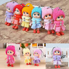 10pcs Kids Toy Soft Interactive Baby Dolls Toy Mini Mobile Doll Phone Acces F5b6