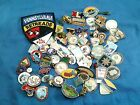Collectible Motorcycle Club Retreads Pins and Patch 70+ Items