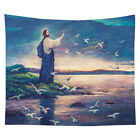 Jesus Christ Wall Hanging Tapestry Psychedelic Bedroom Home Decoration