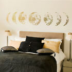 1pcs 3d Moon Phase Wall Sticker Pvc Moon Art Decal Home Living Room Background