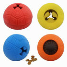 UK_ Pet Dogs Puppy Funny Rubber Ball Teeth Molar Clean Bite Play Interactive Toy