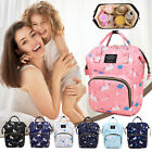 Mummy Maternity Large Capacity Nappy Bags Nursing Handbag Travel Backpack