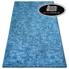 Modern Long Life Carpet Floor 'Pozzolana' Blue Thick Large Rugs On Dimensions