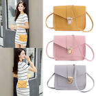 Casual Candy Color Small Square Pack Shoulder Bag Wallet Handbag Pu Leather