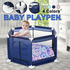 Kyпить Baby Playpen Interactive Kids Play Playard Ocean Ball Safety Gate 6 Panel Fence на еВаy.соm