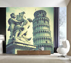 3d Pisa Leaning Tower 345 Wallpaper Decal Decor Home Kids Nursery Mural Home