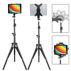Height Adjustable Floor Bed Stand Mount Holder for iPad 7-10'' Tablet/Kindle/Nex