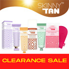 SKINNY TAN Wonder Serum, Gradual Tanner, Pre-Tan Primer, After Glow Gloss, Mitt