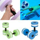 2pcs Water Weight Workout Aerobics Dumbbell Aquatic Barbell Fitness Swimming image