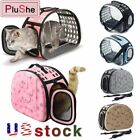 Pet Carrier Portable Transparent Foldable Cat Dog Puppy Shoulder Travel Bag US