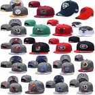 Mens Women Adjustable Golf Baseball Caps Flat Brim NFL Teams Logo Snapback Hat $14.99 USD on eBay