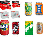 Coke Zero Sugar Diet Cock Pack of 24 330 ml Cans Fizzy Drink Coca-Cola Real £11.5  on eBay