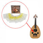 Ude Strings Set Oud Lute Strings Silver Plated Copper Alloy Wrapped Nylon Str Tu