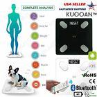 Kyпить Smart Body Bathroom Weight Scale Fat Bones BMI Digital Bluetooth Fitness APP на еВаy.соm