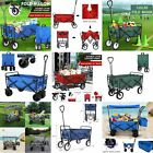 Collapsible Wagon Cart Utility Durable Portable Large Fold Tool Trolley Homeuse