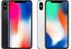 StoreInventoryapple iphone x  64gb/256gb space gray/silver (gsm unlocked) a1901 a++ grade