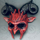Ram Horns Masquerade Mask Demon Costume Halloween Performance Wear or Wall Deco