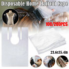 Kyпить 100/200 Disposable Hair Cutting Cape Hairdressing Barber Apron Dyeing Gown Cloak на еВаy.соm