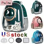 Cat Dog Pet Carrier Outdoor Travel Bag Transparent Breathable Space Backpack USA