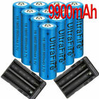 UltraFire 18650 Battery 3.7V Li-ion Rechargeable Cell & Charger for Flashlight