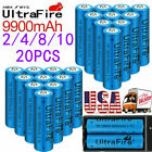 Kyпить UltraFire 18650 Battery 3.7V Li-ion Rechargeable Cell & Charger for Flashlight на еВаy.соm
