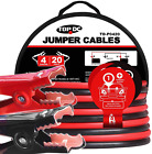 Topdc Jumper Cables 4 Gauge 20 Feet Heavy Duty Booster Cables With Carry Bag (4A