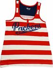 Green Bay Packers Women's Red, White, Blue Tank Top $26.74 USD on eBay