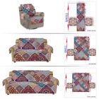1-3Seater Bohemian Floral Stretch Sofa Covers Slipcover Settee Couch Slipcovers