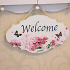 Decoration House Number Doorplate Funny Wooden Countryside Style House Sign O3