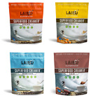 Laird Superfood Coffee Creamer Sampler Pack - Unsweetened, Original, Cacao, and