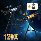 360x50mm Astronomical Refractor Telescope Refractive Eyepieces Tripod Beginners image