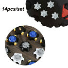 Aids Golf Spikes Pins Spikes Replacement Accessories 1/4 Turn Fast screw Shoe