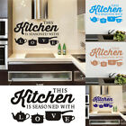 Pvc Kitchen Home Wall Sticker Art Wall Decal Bedroom Room Decoration Removable