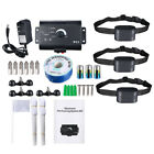 Electric Dog Pet Fence Trainning System Waterproof Shock Collars For 2-3 Dogs