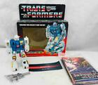 Transformers Original G1 1985 Twin Twist Complete With Box Error Tech Spec For Sale