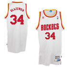 Houston Rockets #34 Hakeem Olajuwon Throwback Swingman Jersey White on eBay