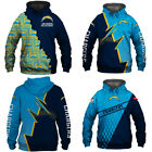 Los Angeles Chargers Football Sport Casual Hoodie Sweatshirt Hooded Jacket Gift $36.03 CAD on eBay