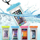 Waterproof Cell Phone Bag Pouch Underwater Swimming Clear Case Cover Dry Bag New