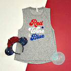Red White And Blue Shirt, Funny July 4th Shirt, 4th Of July Shirt, Patriotic, Re